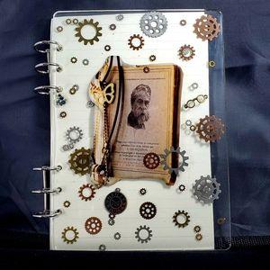 New Handmade Traveler's Journal